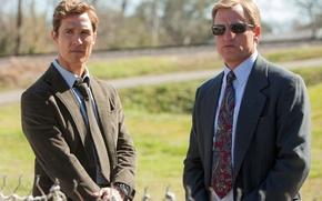 Picture glasses, costume, the series, Woody Harrelson, Woody Harrelson, True Detective, Matthew McConaughey, True detective, Matthew …