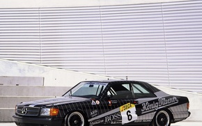 Picture Mercedes, benz, coupe, с126