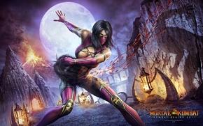 Wallpaper Mortal Kombat, Mortal Kombat, Mortal Kombat, Milena, Nine