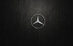 Wallpaper mercedes benz, pylon, logo. silver