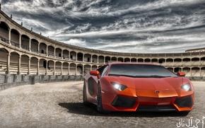 Picture Lamborghini, Italy, Rome, LP700-4, Aventador, Coliseum