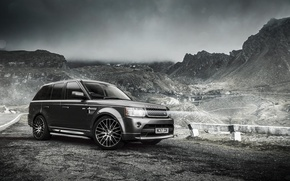 Picture mountains, tuning, Range Rover, tuning, Sport