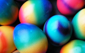 Wallpaper color, Easter, Eggs