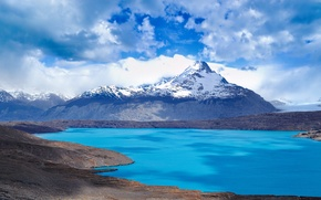 Picture water, landscape, mountains, beauty, sky, Argentina, South America