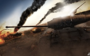 Picture USA, WoT, World of Tanks, World Of Tanks, SuperPershing, T26E4