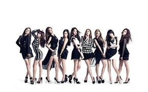 Picture music, girls, Asian girls, SNSD, Girls Generation, South Korea, K-Pop