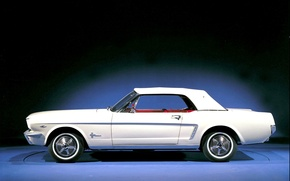 Picture Mustang, Ford, Photo, Retro, Machine, Ford, Old, Mustang, Car, Car, Beautiful, Car, Wallpapers, 1964, Photo, …