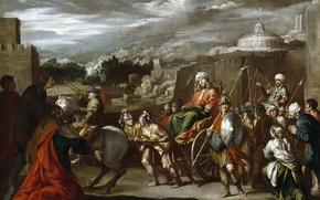 Picture picture, mythology, Antonio del Castillo y Saavedra, The triumph of Joseph in Egypt