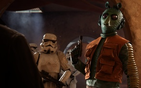 Picture game, Electronic Arts, Stormtroopers, DICE, Stormtroopers, star wars battlefront, Outer Rim, Greedo, Greedo, The Outer ...