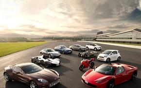 Picture Aston Martin, Mercedes-Benz, Porsche, BMW, Ferrari, Land Rover, Morgan, BAC