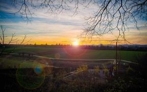 Picture Germany, Sunset, Mayyas Sakaji