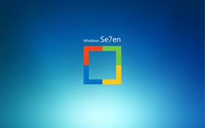 Picture computer, paint, Windows 7, operating system