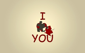 Picture BACKGROUND, TEXT, HEART, RED, LOVE, PUZZLE