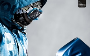 Picture snowboard, mask, snowboard, goggles, nidecker