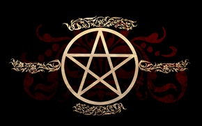 Picture symbol, witch, occult, pagan