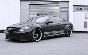 Picture Mercedes-Benz, Black, Matte, CL500, Edition, Premium, by Famous Parts