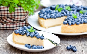 Picture blueberries, pie, cakes, sweet