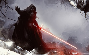 Picture Star Wars: Episode VII - The Force Awakens, Kylo Ren, Star wars: the force awakens, …