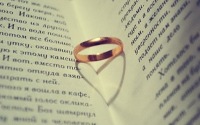 Picture Wallpaper, ring, book, shadow heart
