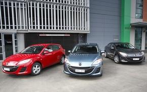 Picture Wallpaper, Mazda, sedan, 2009, Mazda, Cars, hatchback