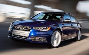 Picture Audi, Road, Audi, Blue, Machine, Movement, Machine, Sedan, Car, Car, Cars, Blue, Cars, Road, Sedan, …
