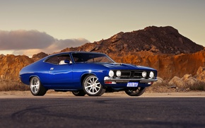 Picture Ford, muscle car, rechange, hq Wallpapers, Ford Falcon GT