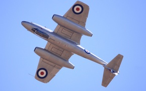 Picture airplane, aviation, Gloster Meteor