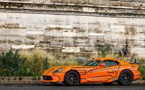 Picture Dodge, Orange, Viper, SRT
