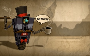 Picture mustache, coffee, hat, cigar, Borderland, thing
