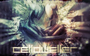 Picture color, abstraction, feelings, creatures, it, Celldweller