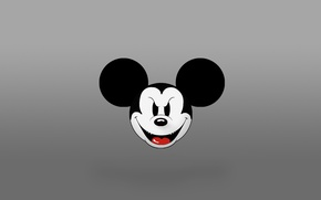 Wallpaper Disney, Mickey Mouse, Mickey Mouse, evil Mickey
