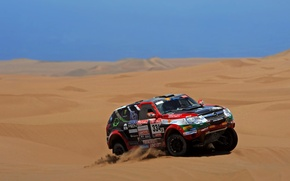 Wallpaper Machine, Sand, Desert, Auto, Opel, Rally, Sport, Dakar, Opel, Dakar, SUV, Race