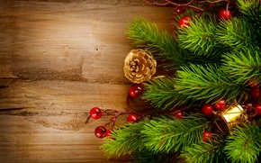 Picture tree, spruce, branch, New Year, Christmas, tree, Christmas, bumps, gold, holidays, New Year, Holly