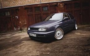 Picture Volkswagen, golf, BBS