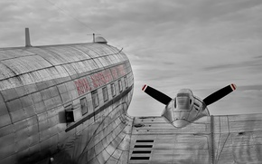 Picture Aircraft, Douglas C-47, Skytrain, Candy bomber
