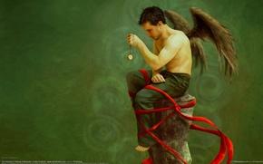 Picture watch, man, angel, nykolai aleksander