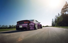 Picture Nissan, low, 240SX