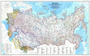 Picture Map, Russia, CIS