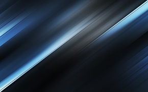 Picture blue, abstraction, strip