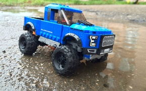 Picture ford, lego, raptor, f150
