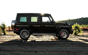 Picture Mercedes-Benz, side, Mercedes, AMG, g, G-Class, 2015, G 63
