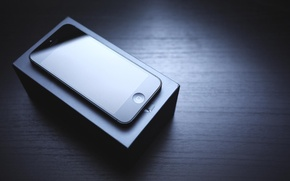 Picture box, black, Apple, phone, gadget, iPhone, Apple, iPhone 5