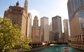 Wallpaper city, the city, Chicago, USA, Chicago, Illinois