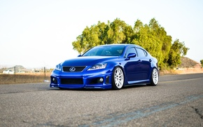 Picture Lexus, blue