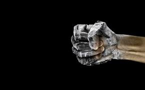 Wallpaper stone, background, fist