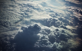 Picture the sky, clouds, top, dobraatebe