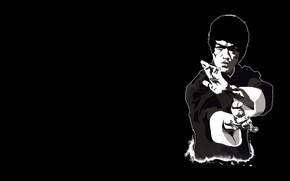Picture people, master, art, actor, legend, teacher, Bruce Lee, Bruce Lee, philosophy., East, martial arts