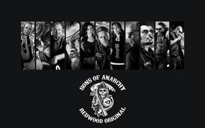 Picture motorcycle, the series, biker, sons of anarchy, SoA