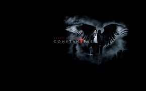 Picture Keanu Reeves, darkness, Lord, Constantine