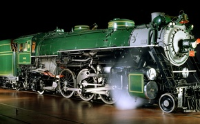 Wallpaper photo, Railroad, Trains, the engine